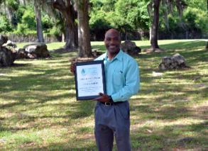 Dr. Charlie Martin, Receives 2018 Leroy Scott Award